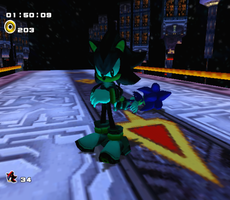 Sonic defeated by Ultiseter127