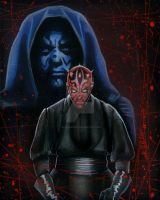 Darth Maul 2 by AlexBuechel