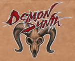 DemonSynth Badge by LaughingSquid