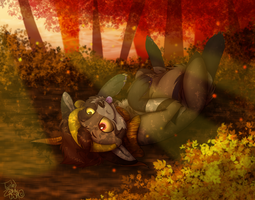 Shade of the Leaves by TwistedZepher