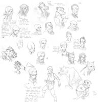 Lots of Faces by beonarri