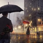 Red Umbrella by Sleax