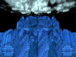 Sapphire Castle by crotafang