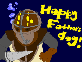 Happy Father's day! by spazzyArtist1999