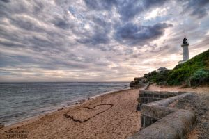 Point Lonsdale Lighthouse HDR by DanielleMiner