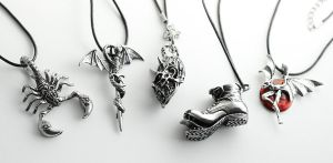 Stainless Steel Necklaces by MonsterBrandCrafts