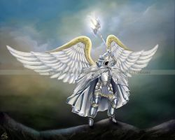 Archangel-Michael by Rachzee