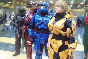 ACEN 2013- HALO Group by MetalWolfGemstone