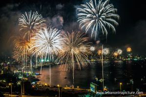 Fireworks at Jounieh 1 by alanove