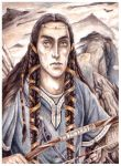 Fingon upon Thangorodrim by peet