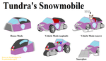 Gift: Tundra's Snowmobile by DarthGoldstar710