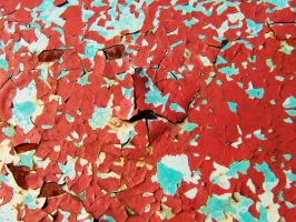 PEELING PAINT by PUBLIC-DOMAIN-PICS