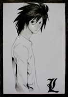 Death Note - L Lawliet by Thavia