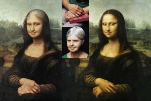 Mona Getting Older - making of by roweig