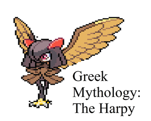 Greek Mythology Sprite: Harpy