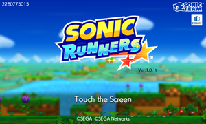 SONIC RUNNERS! by supersilver1242