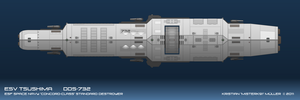 ESF CONCORD-CLASS Destroyer by MisterK91