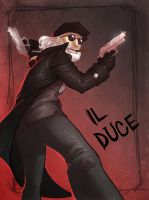 Il Duce by Crispy-Gypsy