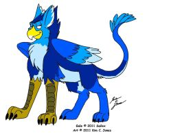 Gale the Gryphon by Slasher12