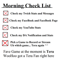 Morning Check List by SonofSpardaDante