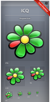 Icon ICQ by ncrow