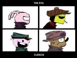 Ojenok - Demon Days by Puklin