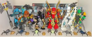 Bionicle 2015 Masters collection by Brian12