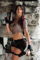 Lara Croft,Tomb Raider Legend : dangerous mission! by Giorgiacosplay