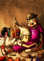 Homestuck - Dirk's childhood. by MelSpontaneus