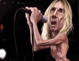Iggy Pop by DevonneAmos