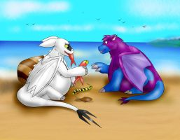 Gift - Do you want a pony fish bro? by B12A