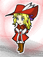 Red Mage Tina by pikajo