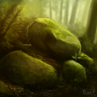 DAY 92. Experimenting (30 Minutes) by Cryptid-Creations