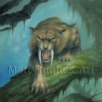 Saber Tooth Tiger by matthughes