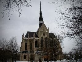 Gothic Chapel by Contengent-Necessity