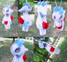 Froslass Bell Plush Commission by Soudaiya