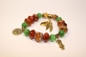 Bracelet 'A Tree of Wisdom' by Septentria