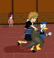 Kingdom Hearts Date with Sora by poyozodoll