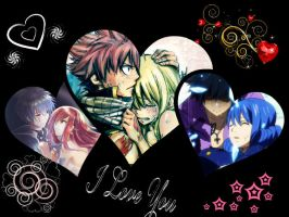 !Fairy Tail Favourite Couples! by LilyRose98