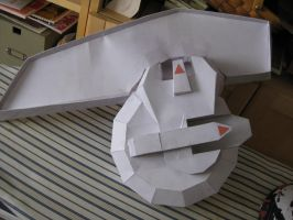 Papercraft: Yu-Gi-Oh Duel Disk by gerotto1