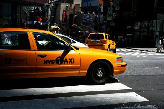 Yellow Cab by madsexycool