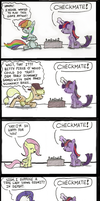 The Ultimate Pony Chessmaster by zxcvsaw