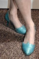 Frozen: Elsa Shoes by Stealthos-Aurion