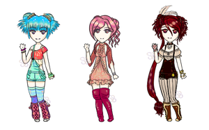 [100 points / Offer-to]~ Random Adopts ~ Set 01 ~ by sethrielle