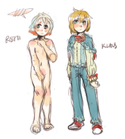 rishi and klaus by alpacasovereign