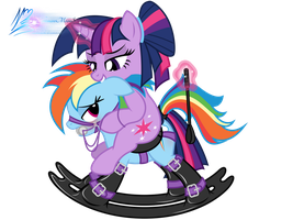 Rocking Pony by RainbowDashie