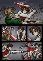 REGB - Clark Vs Zombies by Raax-theIceWarrior