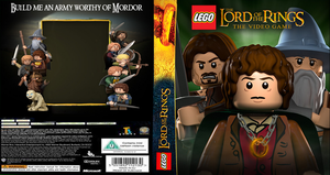 Lego Lord of the Rings The Video Game Cover by GreedLin