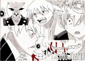 Soul Eater_Feel the Fear by DimiAnimeDeviL
