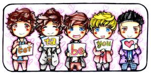 1D: Gotta Be You Bookmark by bakahouken
